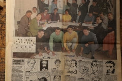 France Soir - Dessinateurs refont le journal - 1990