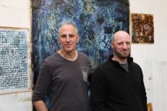 Alain Garrigue et Gilles Aris