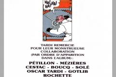 "Tardi - Adèle Blanc-Sec ""Tous des monstres"""