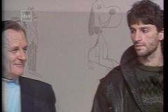 Albert Uderzo et Alain Garrigue