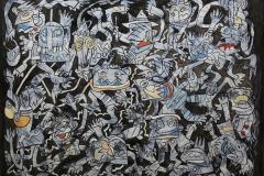 1986-Foule bleue